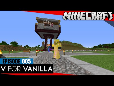 Two Iron Farms, Lots of Villagers :: V for Vanilla | SMP Minecraft (no health regen) | E005