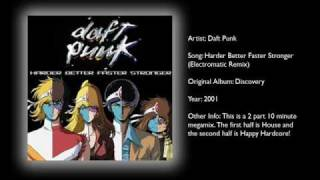 Daft Punk - Harder Better Faster Stronger (Electromatic Remix)