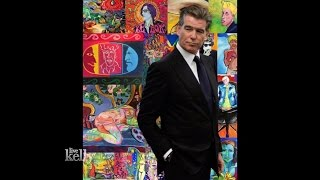 Pierce Brosnan Plans His First Art Exhibit