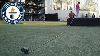 A new challenger for the Longest Golf Club? - Guinness World Records