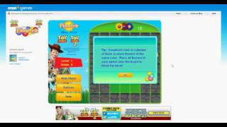 MSN - Toy Story - Flowerz Game Sponsorship