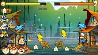 Swamp Attack Multiplayer Play other players | Cartoon Game for Kids screenshot 5