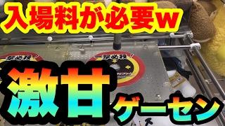 【クレーンゲーム】入場料取られる激甘設定が多いゲーセンで取ってみた! UFOキャッチャー thumbnail
