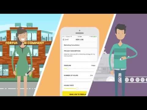 Mobile Skills Marketplace for On-demand Freelancers