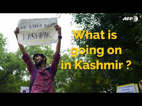 Kashmir: under the threat of violence and a black-out | AFP News
