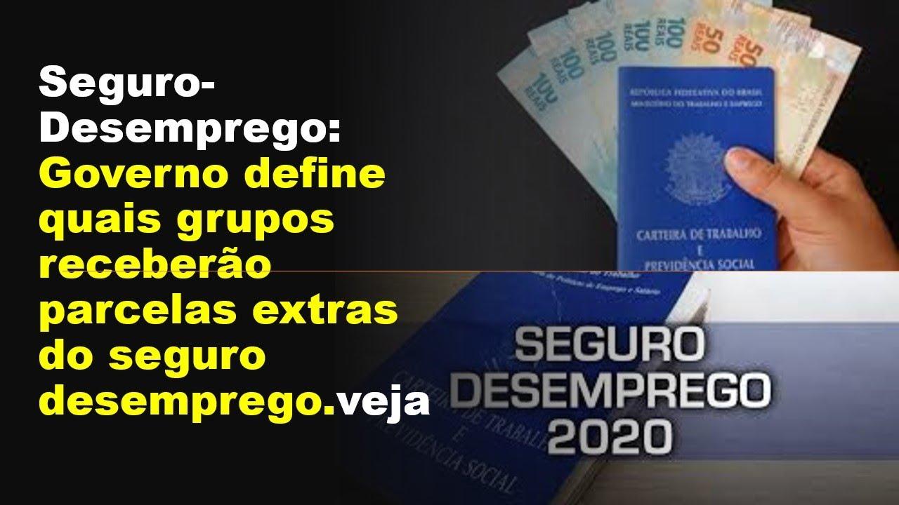Seguro- Desemprego: Governo define quais grupos receberão parcelas extras do seguro desemprego.veja