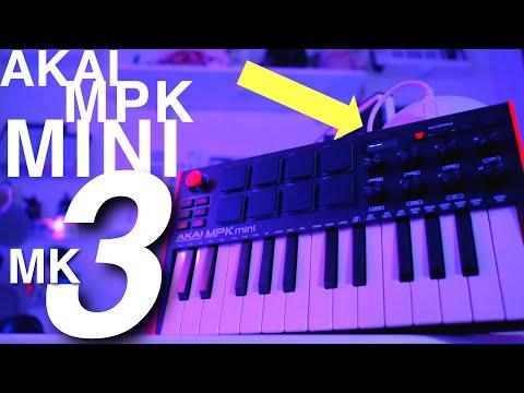 AKAI MPK MINI MK3 | AN UPGRADE TO THE CLASSIC BUDGET MIDI CONTROLLER