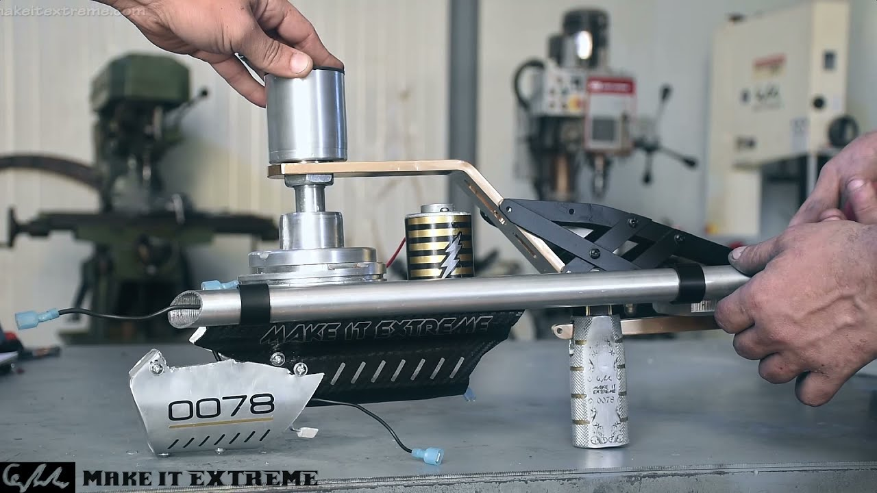 Making a rotary pellet gun