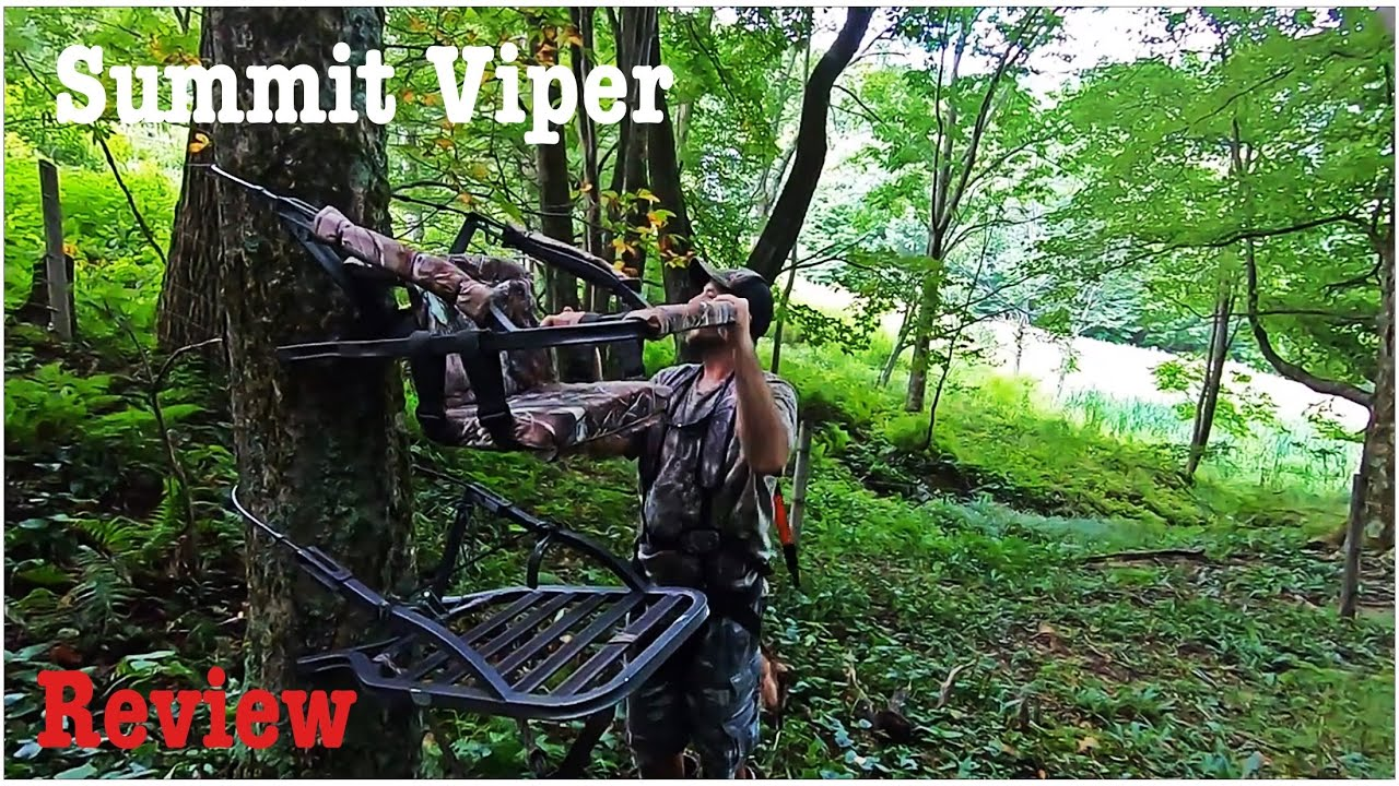 Download Summit Viper Climbing Stand Review   How To Use A Climbing Stand   Tree Stand   Climbing Tree Stand