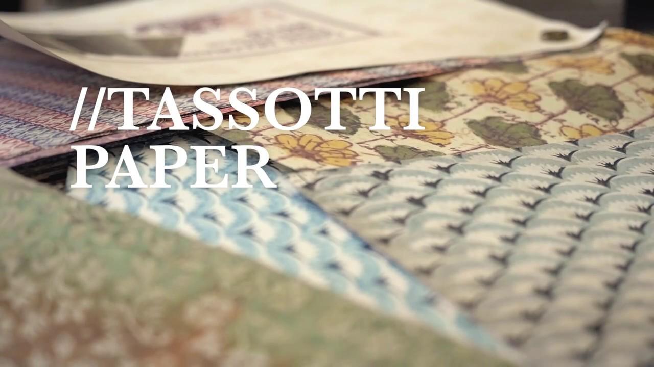 Grafiche Tassotti Papier Italien /écriture dor/é