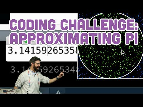 Coding Challenge 95: Approximating the Value of Pi