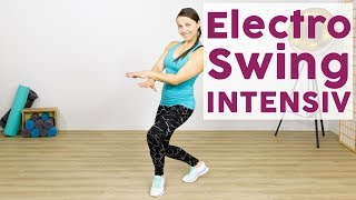 Electro Swing: Mit diesem Fitnessworkout kommst du richtig ins Schwitzen!