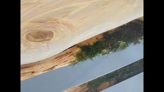 Невероятные творения из дерева и эпоксидной смолы