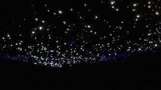 Glasfaser Sternenhimmel mit Sternschnuppe