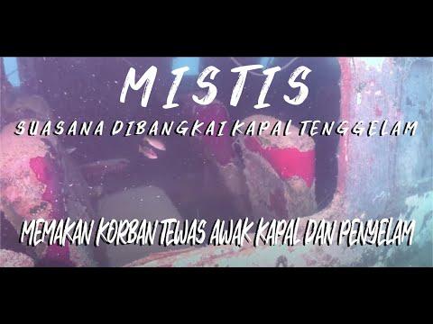 Serem ada korban! Jelajah 5 Bangkai Kapal Tenggelam di Laut Kepulauan Seribu