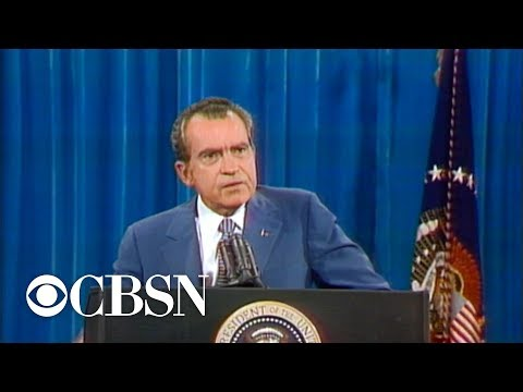 President Nixon resigned 45 years ago amid Watergate investigation