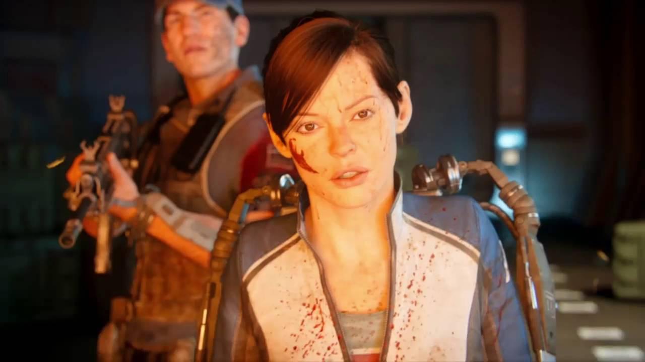 Angela Gots call of duty advanced warfare zombies story movie !! how it