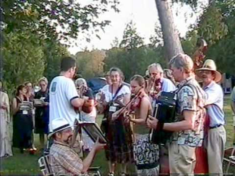 2007 Door County Folk Festival  Singing, Music & Dancing in Sister Bay Park