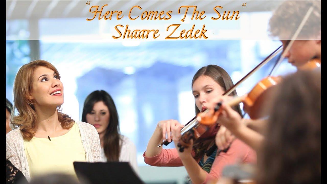 Here Comes the Sun, Flash Mob at Shaare Zedek Medical Center, Jerusalem
