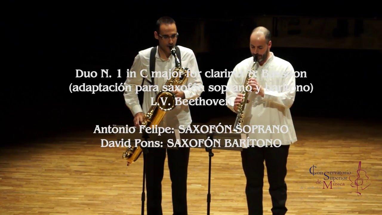 CSMCLM - First Duo (L.V. Beethoven) by David Pons & Antonio Felipe