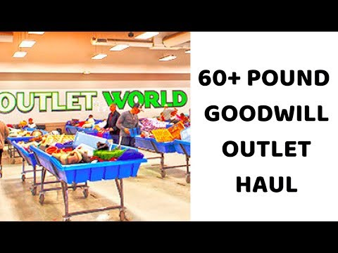 $80 Goodwill Outlet Thrift Haul To Flip   Burberry, Desigual & DVF