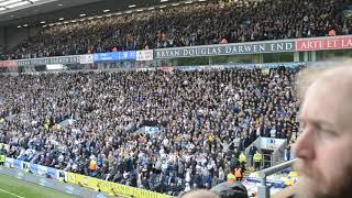 7,700 Leeds fans singing Marching On Together away at Blackburn 20/10/18
