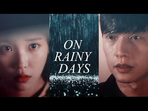 on rainy days. | Park Hae Jin & IU [crossover]