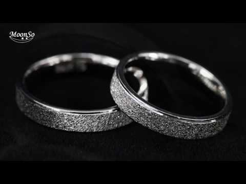 Moonso 925 Sterling Silver Fashion Wedding Jewelry set for Women R4213S