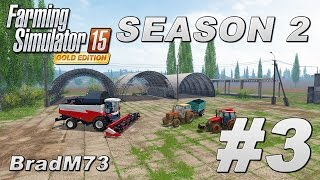 Farming Simulator 15 - Season 2 - GOLD EDITION - Ep 3 - The Rostselmach Niva!!
