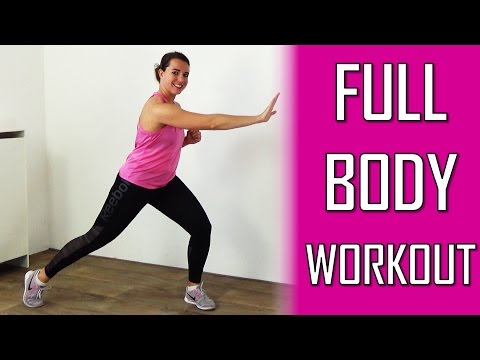 20 Minute Full Body Workout For Women - Fat Burning Daily Cardio Exercise At Home - No Equipment