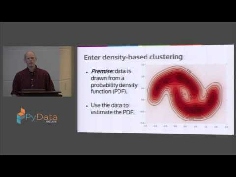 Brian Kent: Density Based Clustering in Python