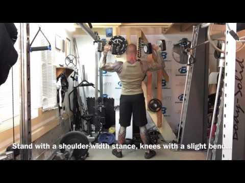 How To Do Standing Dumbbell Shoulder Press