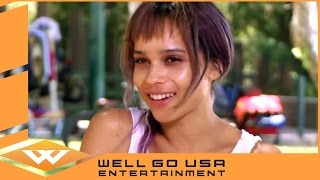 Zoe Kravitz Interview- The Road Within (2014) | Well Go USA