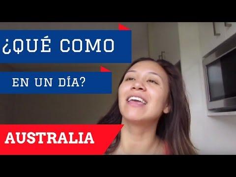 Lo Que Como En Un Día En Australia | Acá En Australia