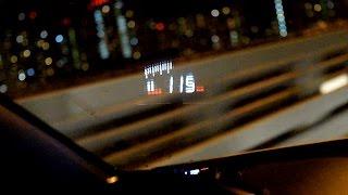 видео Проектор скорости на лобовое стекло