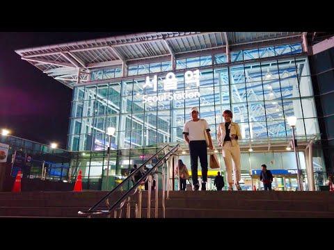 [4K] Walking around Seoul station│Seoul, Korea
