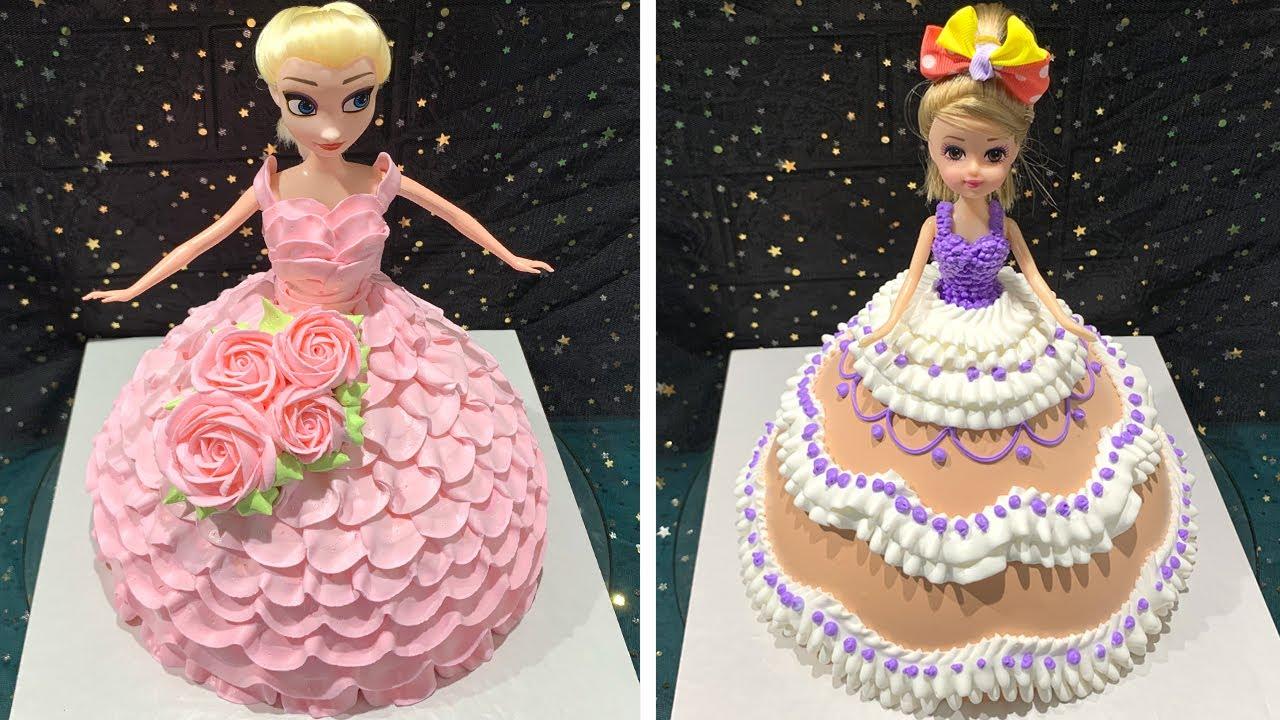 Beautiful Dolls Cake Design 2020 | Amazing Barbie Cake Decorating Compilation | Elsa Cake Ideas