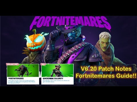 Fortnite - Fortnitemares Has Arrived!! Overview/Guide With Patch Notes V6.20