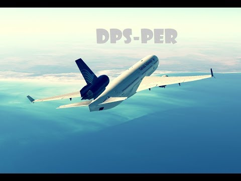 Infinite Flight Global: Bali Denpasar(DPS) -- Perth (PER) | MD-11