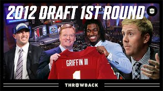 Trade CRAZY, QB's Forever Linked, & More! | 2012 NFL Draft 1st Round