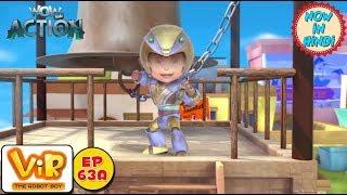 Vir: The Robot Boy   Vir vs Bodyless Aliens   As Seen On HungamaTV   WowKidz Action
