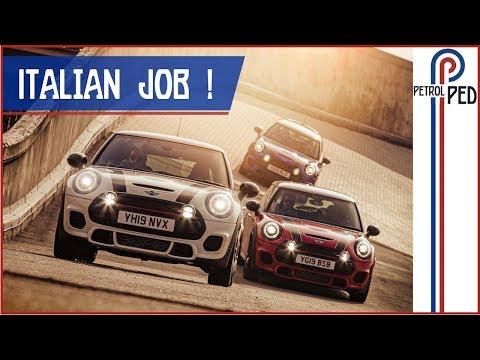 Driving to Turin to recreate The Italian Job !