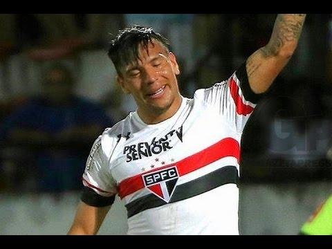 2º Gol de Chávez, Santa Cruz 1 x 2 São Paulo - Série A 07/08/2016