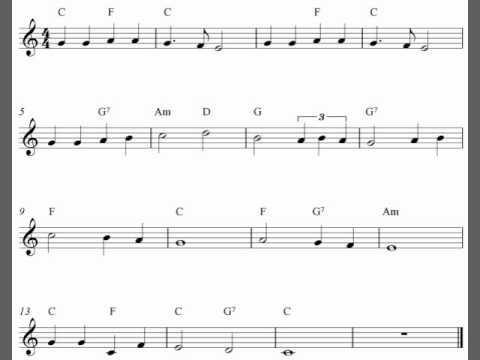 We Shall Overcome Sheet Music Erkalnathandedecker