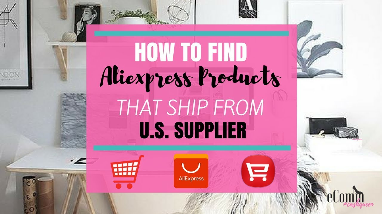 How to Find Aliexpress Products that Ship from U.S. Supplier - Best Selling Aliexpress Products