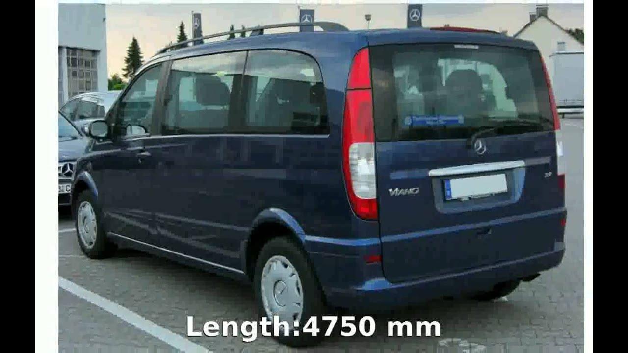 2004 mercedes benz viano trend 2.2 cdi compact specs transmission