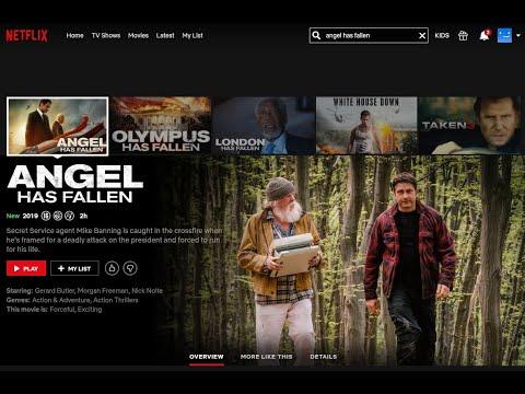 Watch Angel Has Fallen On Netflix