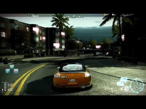 Need for speed world online free roam external view