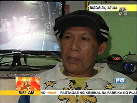 Mga kabataan namalo, namato ng mga sasakyan sa Laguna