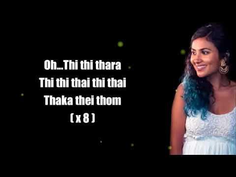 Vidya vox kuttanadan punjayile lyrics